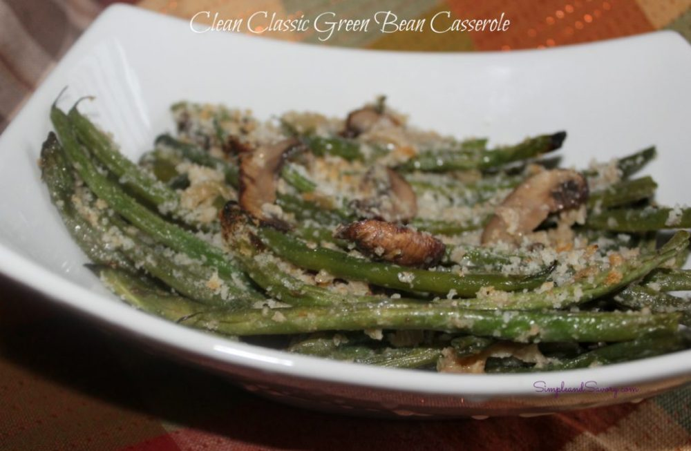 Cleaned up Green Bean Casserole