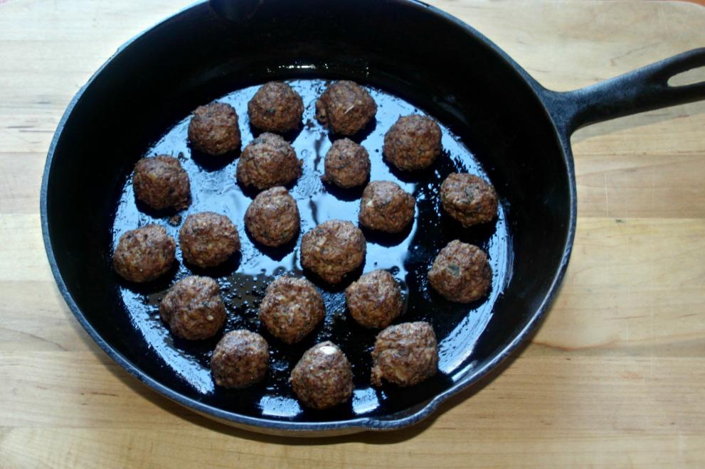 Mushroom meatballs with walnuts simple and savory.com