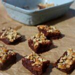 No Bake Turtle Walnut Brownies Simple and Savory.com