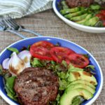 California Burger Bowl #SundaySupper  Simple and Savory