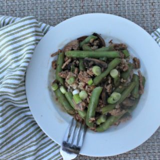 Spicy Green Beans with pork Simple and Savory.com