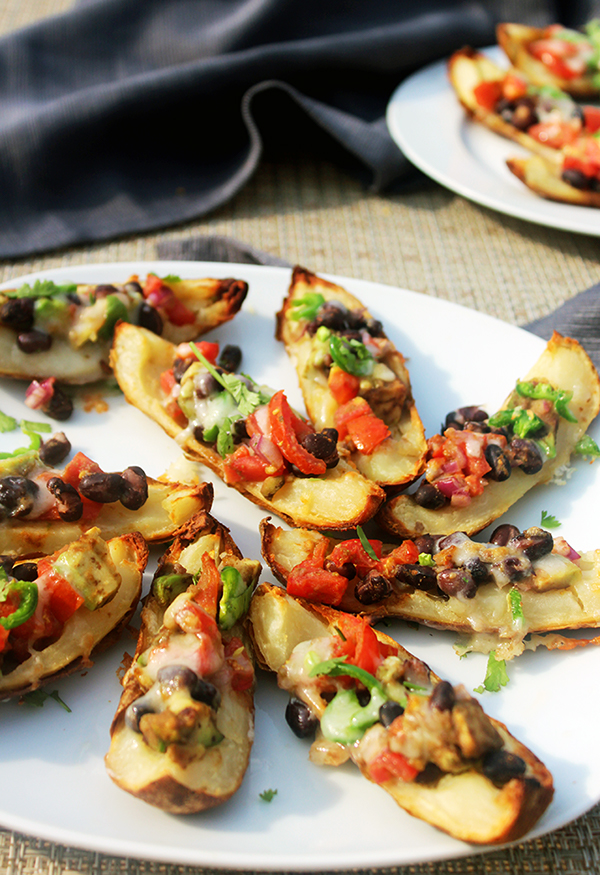 Tex Mex Potato Skins