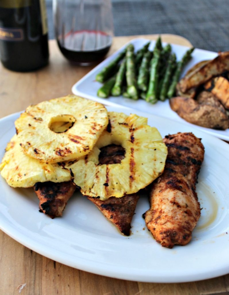 Grilled Jerk Chicken Breasts from simple and savory.com