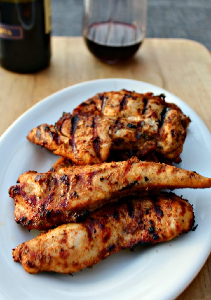 Grilled Jerk Chicken With Pineapple Simple And Savory