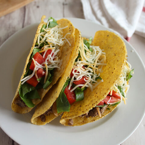 Healthy Beef Tacos square