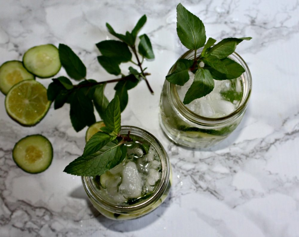 spiked spa water simple and savory.com