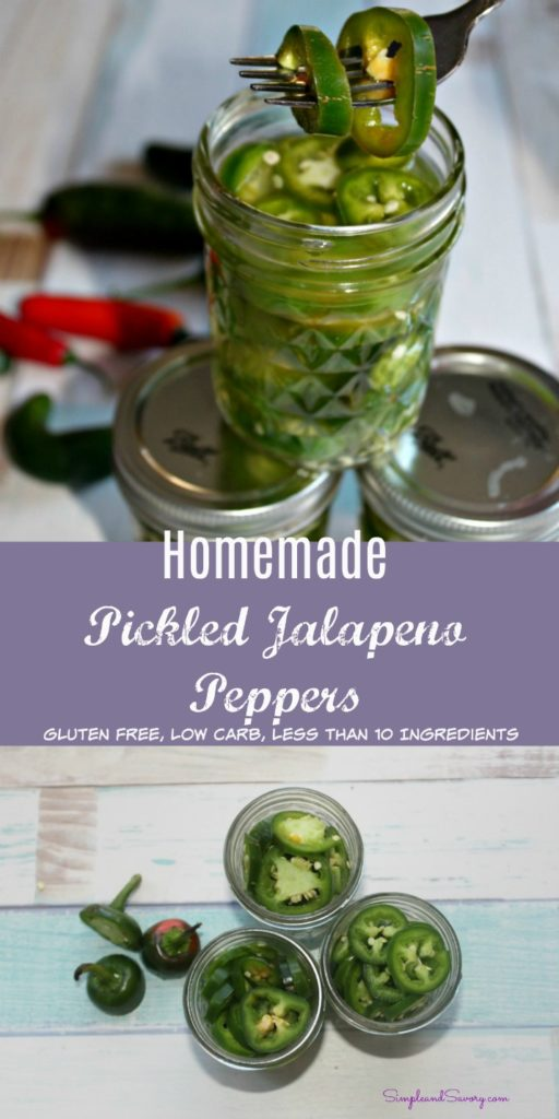 Pickled Jalapenos simple and savory gluten free