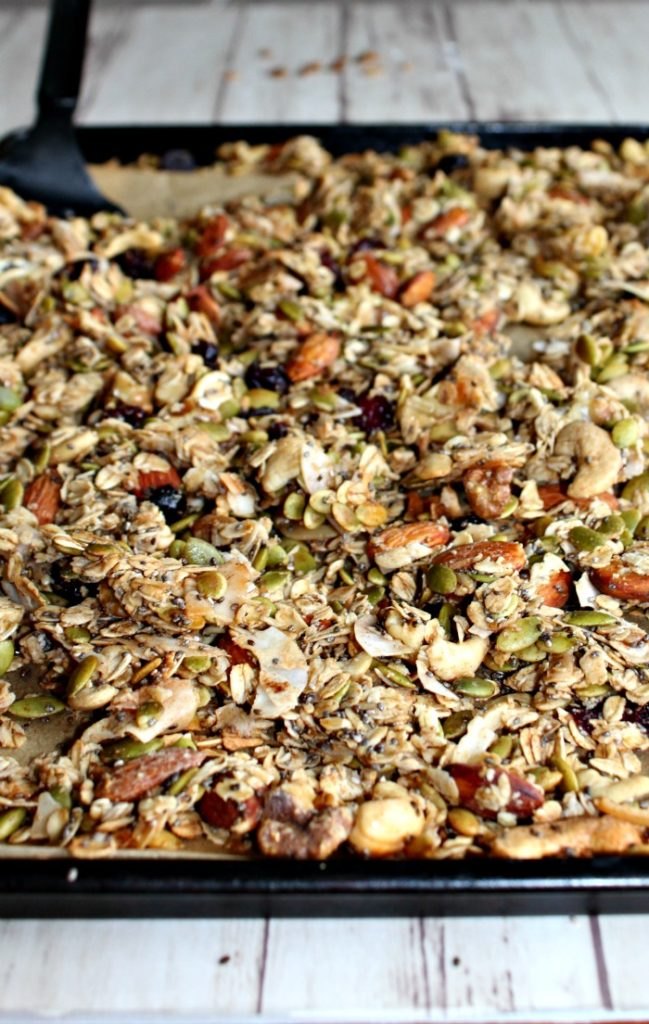 Healthy Homemade Granola - Simple And Savory