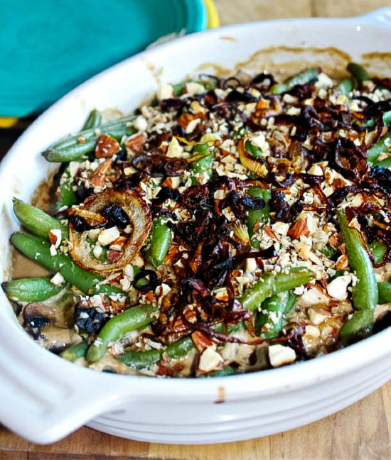 classic green bean casserole #simpleandsavory.com (1)