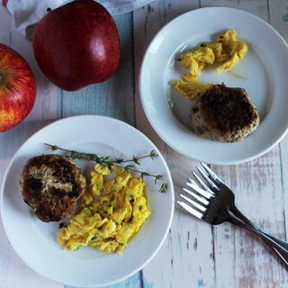 turkey apple sage breakfast sausage