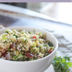 tabbouleh salad in a bowl