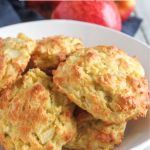 Cheddar Apple Biscuits in a bowl
