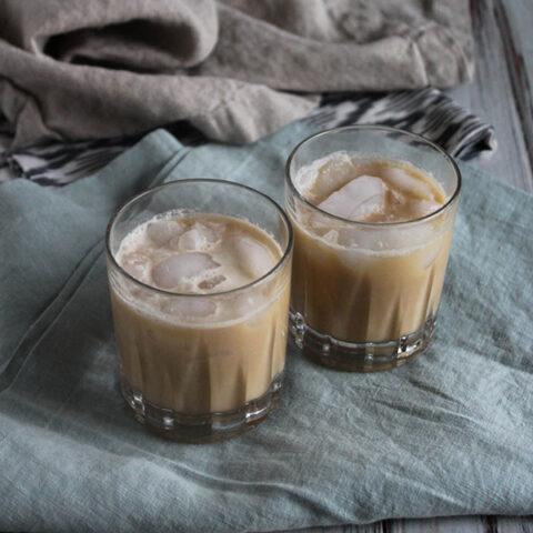 Easy Cold Brew Coffee With Bourbon Cream
