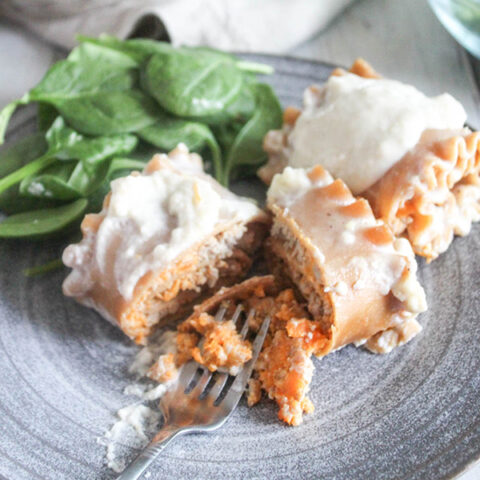 Whole Wheat Lasagna Roll ups with Ground Turkey