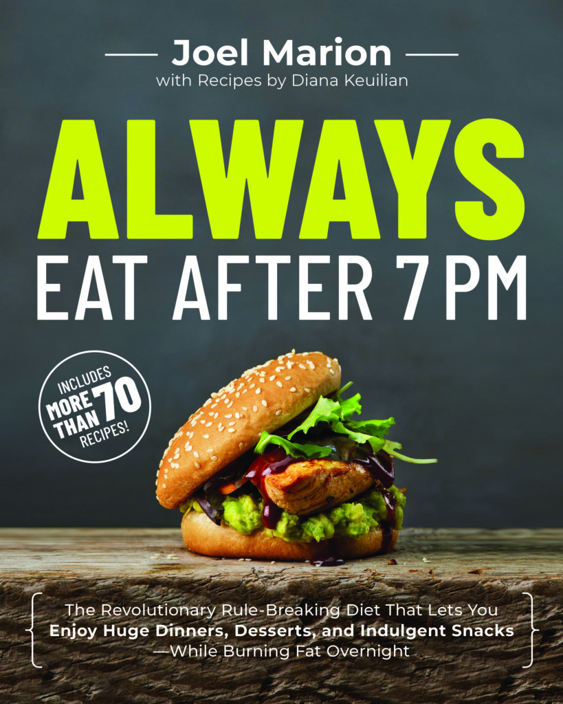 A picture of the front cover of the book Always Eat After 7pm.